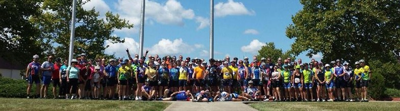 2014 Honor Ride group photo