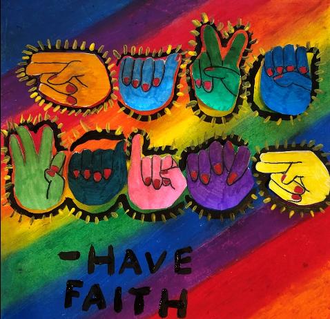"""""""Have Faith"""" by Lauren Lasker"""