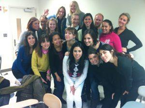 all IIB students in PR class