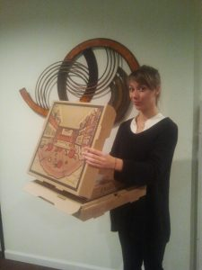 Me and my delicious pizza - Lobby