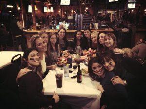 Super Bowl dinner - McGillicuddy's