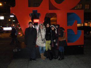 having fun at NYC!