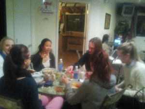 Team Salad and Fish - Motel