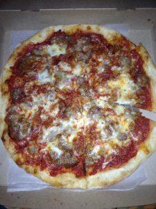 Carol's pizza - her room
