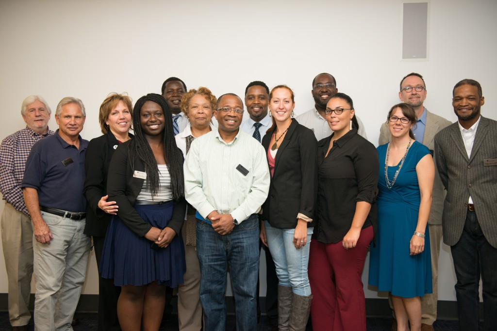 The Alumni Council. Photo taken 2014.