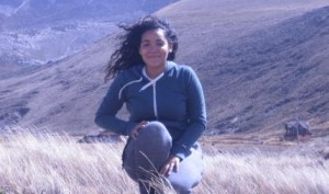 Ashley Sanchez '14 (Sociology/Black Studies) explores the Andes during her semester abroad in Ecuador thanks to funding from the Benjamin A. Gilman International Scholarship.
