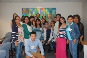 Assemblyman Kevin Cahill with  SUNY-Mexico Summer Intensive English Program participants