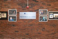 Notable Alumni Wall