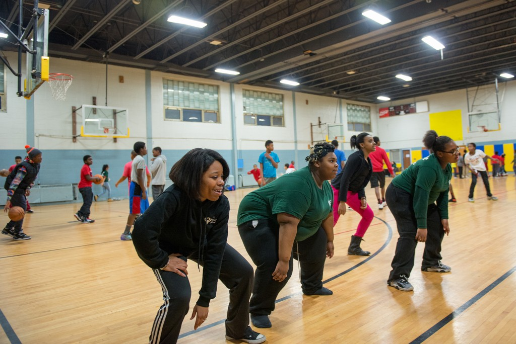 La'Ema Vanterpool '07 (left) began working at Youth Mission Outreach in 2006 when fellow alum and YMO staffer Michelle Dancey '07 asked her to come teach kids how to dance.
