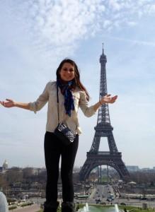 Monica in Paris