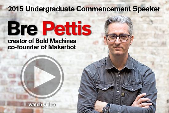 Commencement speaker 2015 video