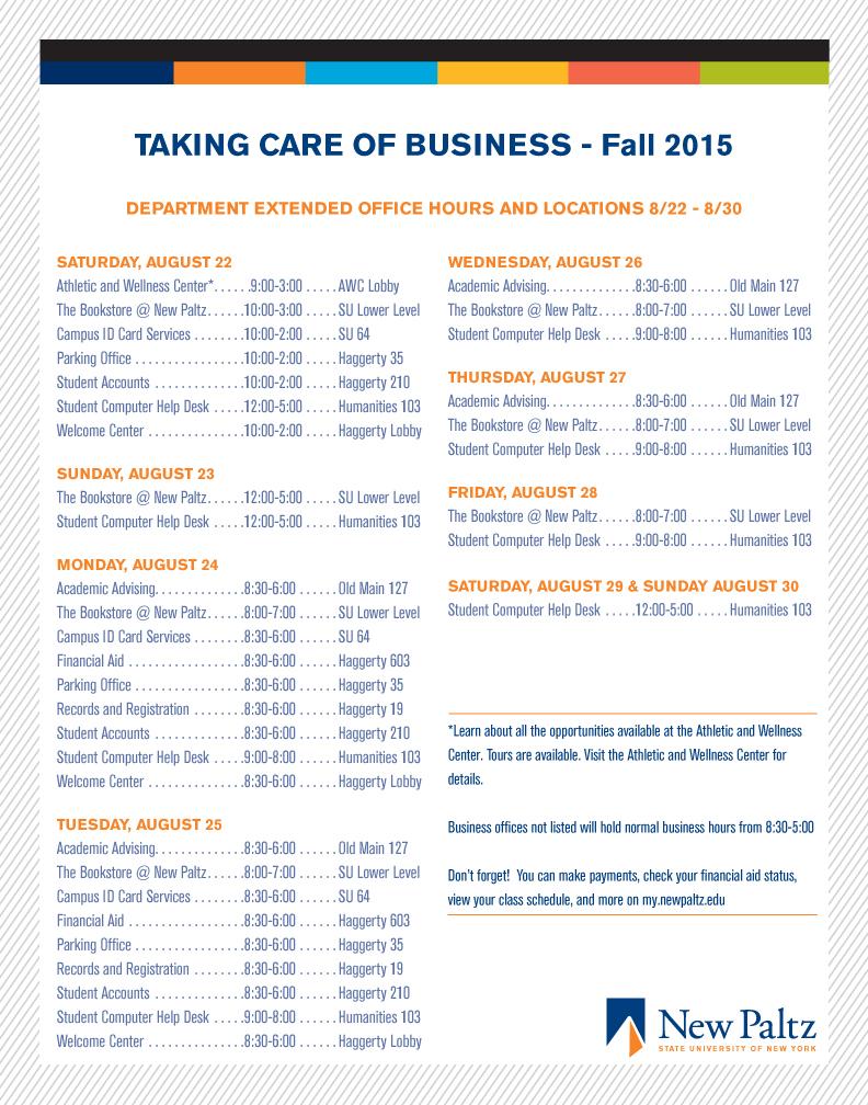 take care business fall 15-1