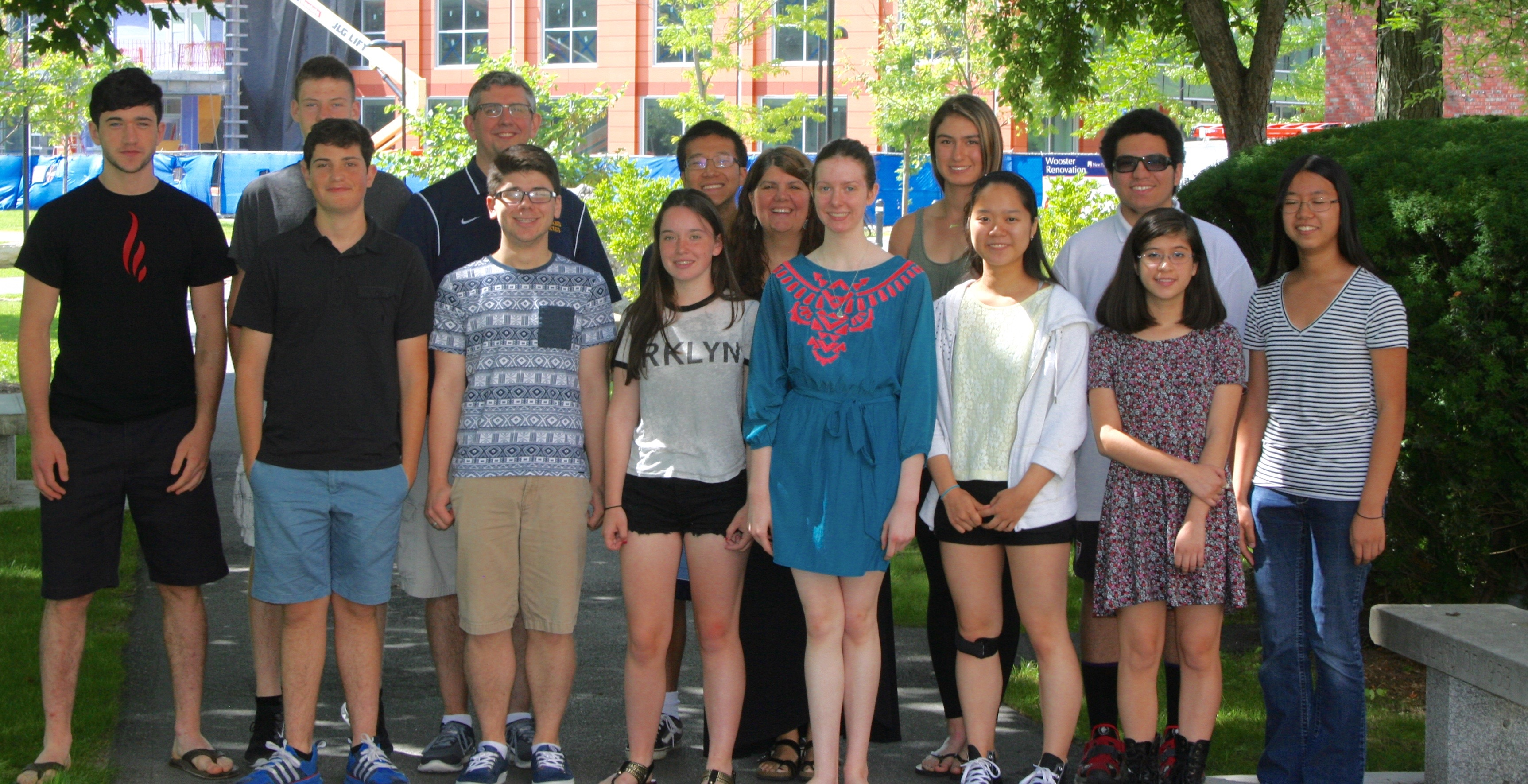 writing project summer program helps high schoolers the  college essay group shot