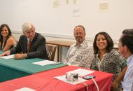 Assemblyman Cahill with Visiting Mexican Faculty