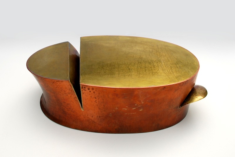Myra Mimlitsch-Gray, CloveOval, 2010. Copper, brass