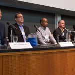 Alumni Scholars and industry leaders return for data analytics panel