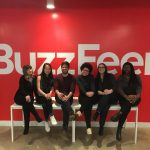 Students gain valuable industry exposure at BuzzFeed through Sophomore Shadow Program