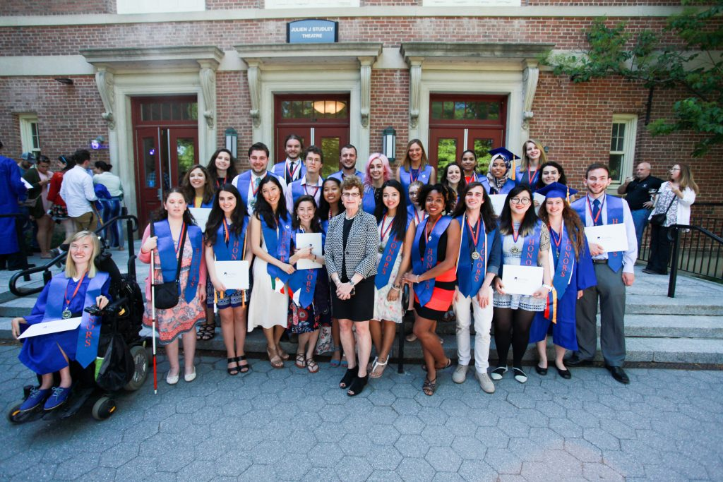 Graduation Ceremony Reception: Graduating Honors Students Cap Commencement Weekend With