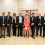 Star-studded journalists' roundtable talks past, present and future of Ottaway Visiting Professorship