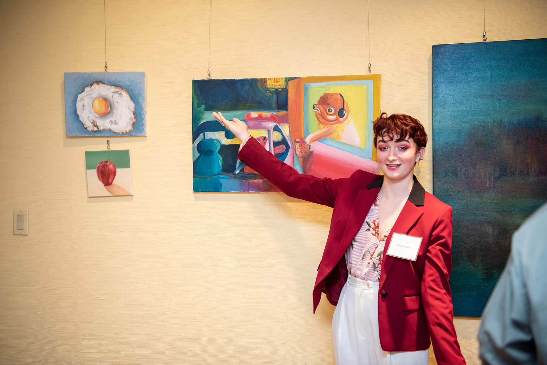 Art Show At President's Residence Celebrates Students