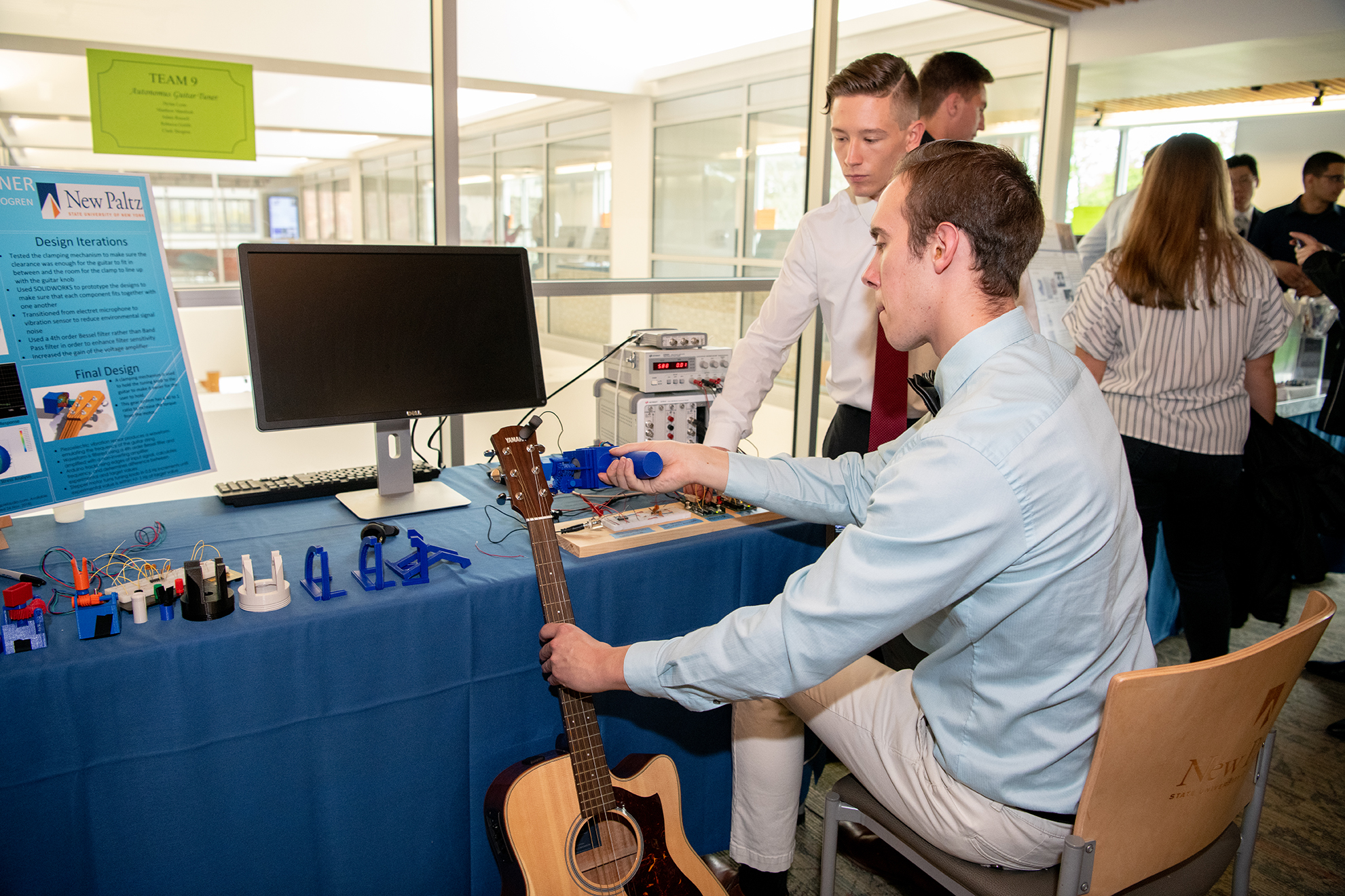 More Than 70 Students Showcase Capstone Projects At Largest Engineering Design Expo Yet Suny New Paltz News