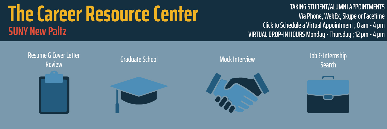 Weekly update from the Career Resource Center – Nov. 23, 2020