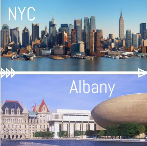 nyc and albany
