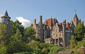 Boldt Castle on Heart Island, near Alexandria Bay