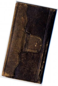 The leather-bound Emma Waite Diary