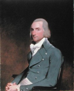 Portrait of Astor by Gilbert Stuart (1794)