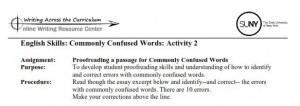 Title Commonly Confused Words