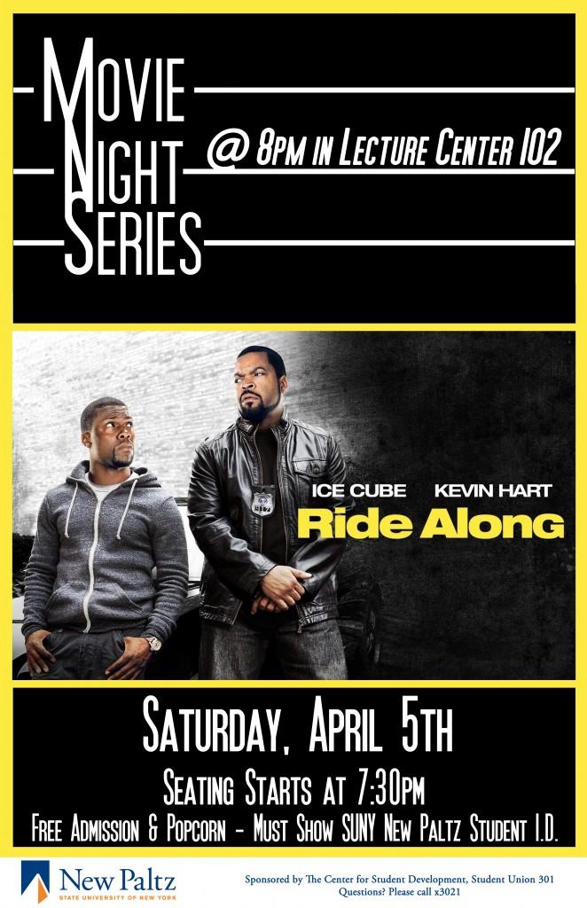 Ride Along Movie Night