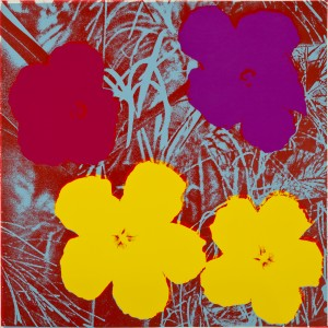 Flowers, 1970, screenprint, extra, out of edition. Designated for research and educational purposes only. © The Andy Warhol Foundation for the Visual Arts, Inc.