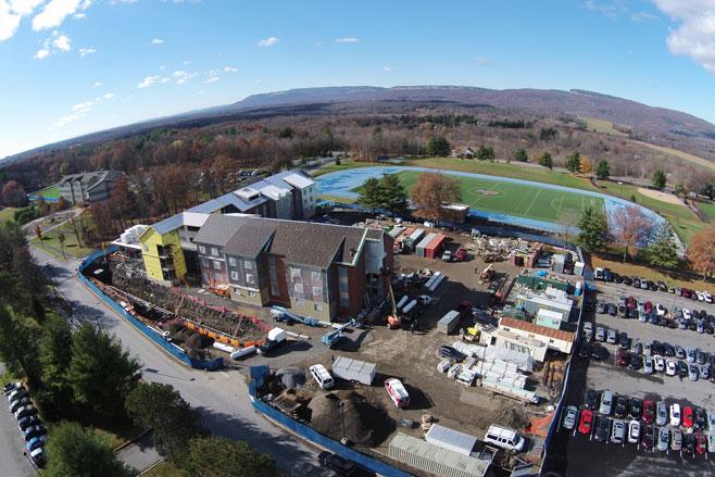 Ridgeview Hall Construction