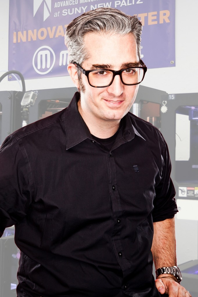 Bre Pettis, co-founder and former CEO of MakerBot