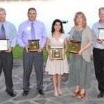 Alum and Business Advisory Council member, Lauren Lawlor '07, '09g received the Central Hudson 2014 Annual Community Service Award