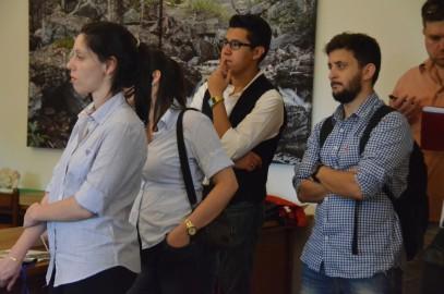 International Business School students visit Alfandre Architecture, PC