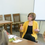 Alumna Myra Kressner Visits SOE, Encourages Teacher Candidates