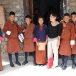 SoE Alumna Stephanie Musial on Teaching in Bhutan by Chris Whitaker