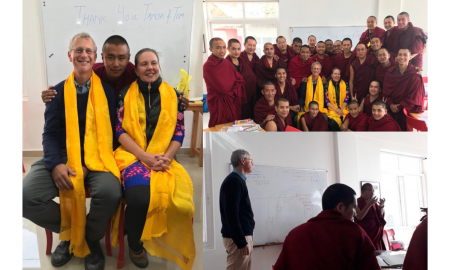 Hudson Valley Writing Project Co-Director Works with Buddhist Monks in Dharamsala