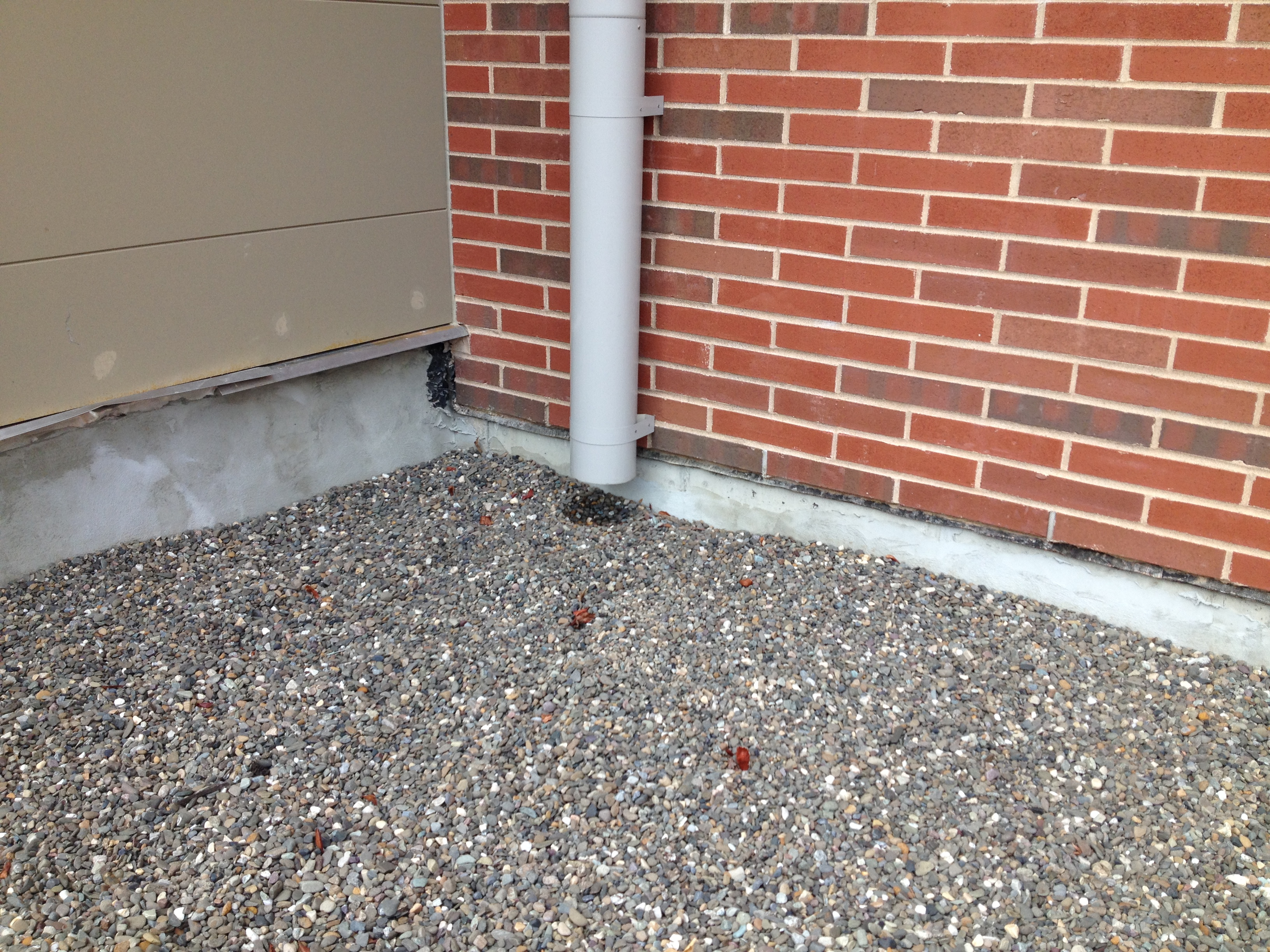 Downspout at Ridgeview