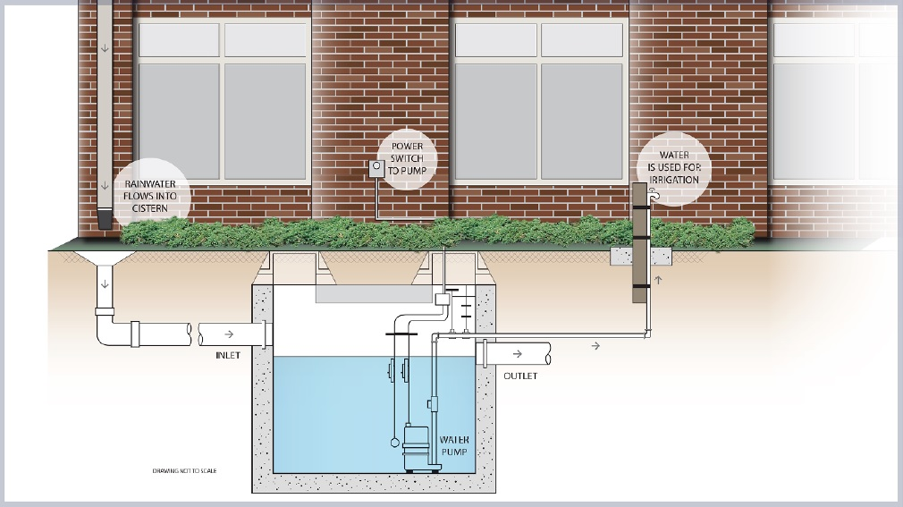 Rainwater Cister - Timely Signs Design