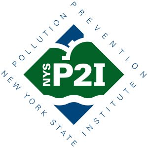 P2I logo with surround type 4in