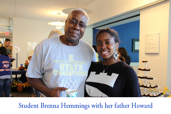 Brenna Hemmings & father